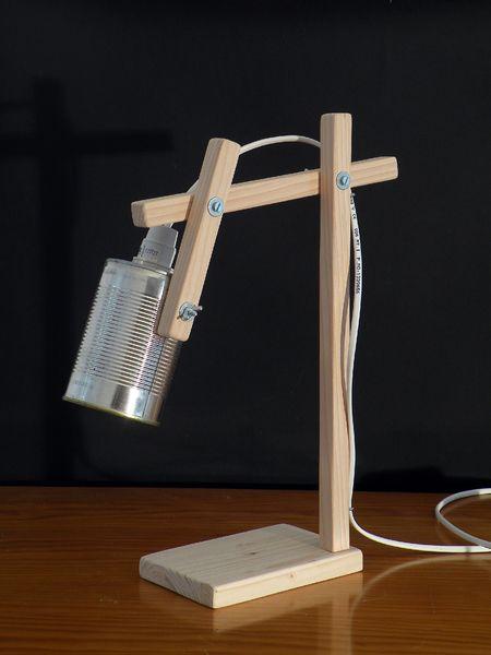 Lampe bois et boîte de conserve • Modèle 5 de Kestufabrik ? sur DaWanda.com