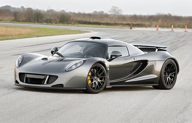 Hennessey Venom GT: la nouvelle voiture la plus rapide au monde