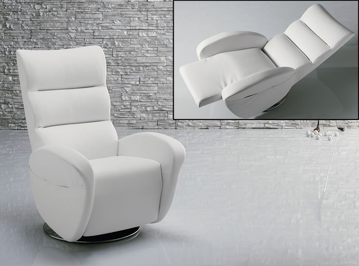 modern recliner chair ester by il benessere italy