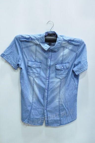 Koszula Męska Jeans H-503 Urus Kr.Rękaw  M-3XL