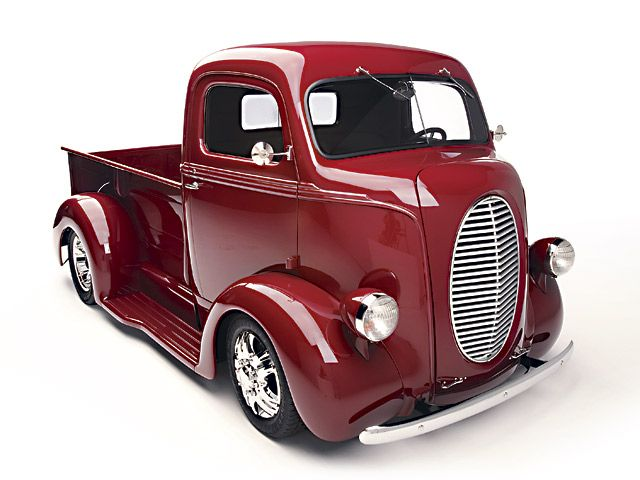 1939 Ford COE (cab over engine) truck