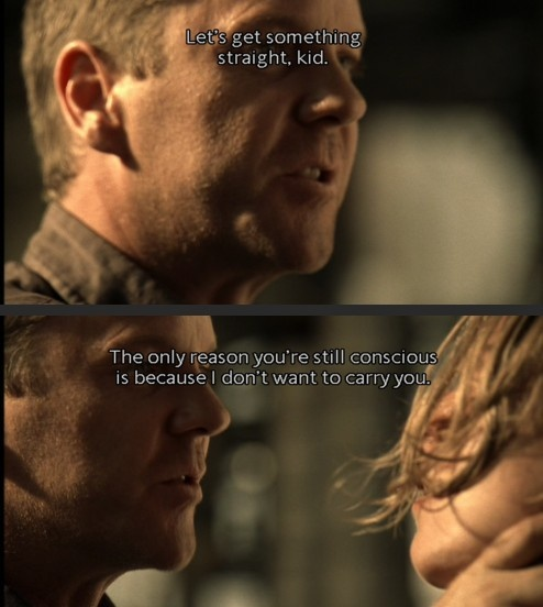 Jack Bauer; Season 5 - One of my favorite lines from 24