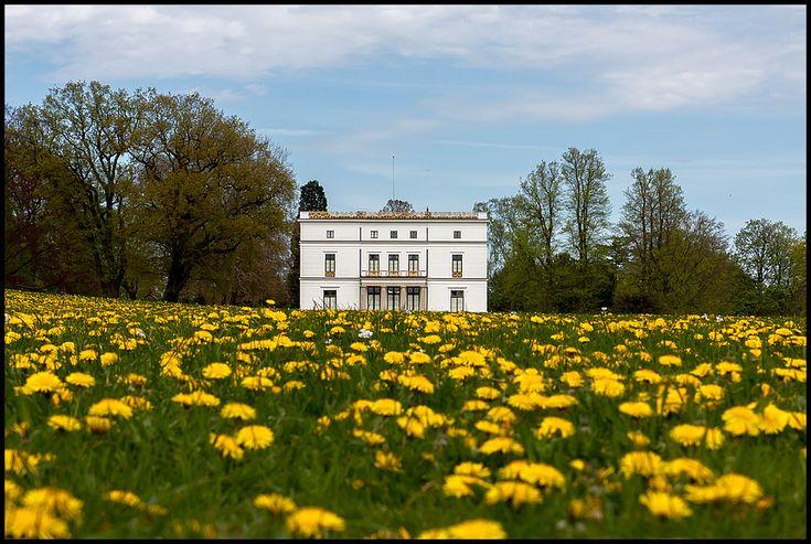 Im Hamburger Stadtteil Othmarschen liegt das Jenisch-Haus in einem weitläufigen Park mit Blick auf die Elbe. http://de.wikipedia.org/wiki/Jenisch-Haus_%28Hamburg%29
