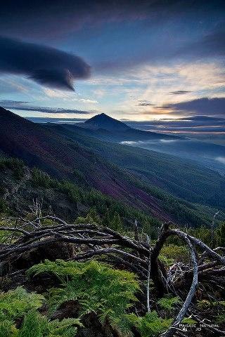Highest peak in Spain: El Teide. Tenerife (Canary Islands)
