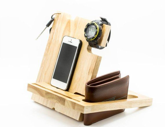 gift idea,cell phone stand,android dock,Docking Station,cable organizer,Wood Gift,Wood,gift,christma