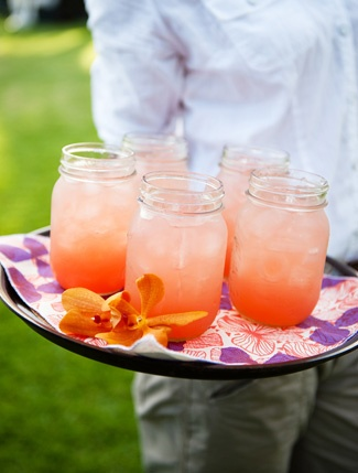 Las Palomas- tequila, lime juice, grapefruit, soda, and salt. PERFECT combination of not too sweet, with a kick of tequilla :)