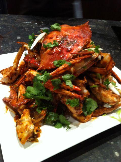 Singapore Chilli Crab Recipe Food Network