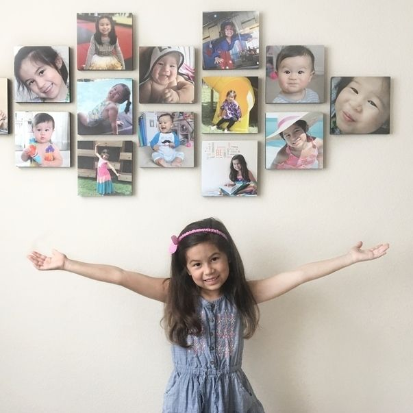 Mixtiles Turn Your Photos Into Affordable Stunning Wall Art Mixtiles Family Wall Decor Picture Arrangements On Wall
