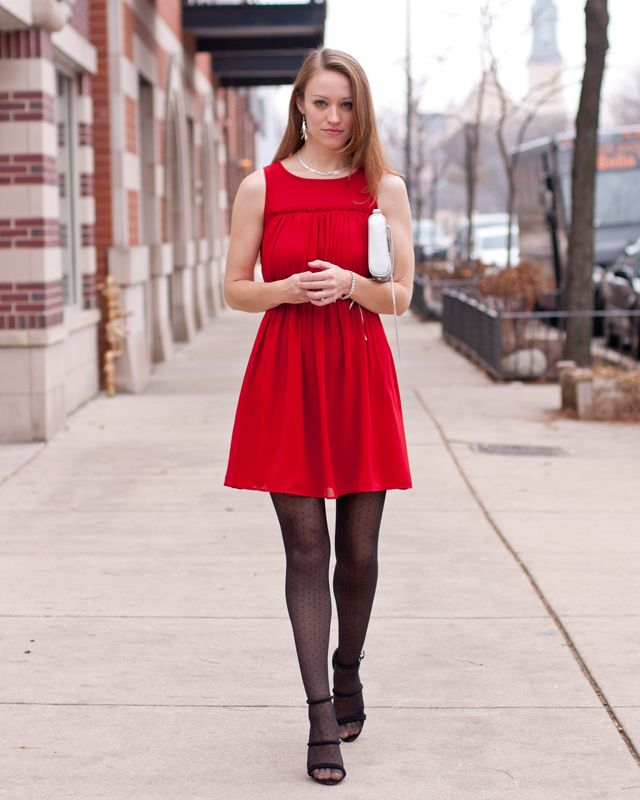Number 6 red dress target