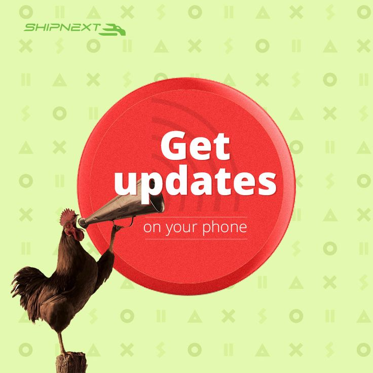 Receive the latest status of your shipment on your phone! #shipping #moving #updates