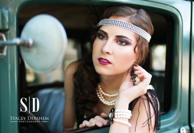 Great Gatsby Photoshoot | Senior Style Guide