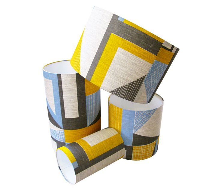 Tamasyn Gambell | Abstract Square Lampshade | www.tamasyngambell.com