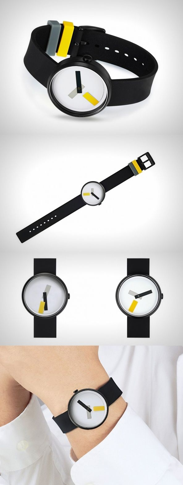 The Suprematism watch stems from the Suprematist movement propagated by Russian artist Kazimir Malevich. With the use of strictly geometric shapes and vivid color schemes, the artist would bring the canvas alive.