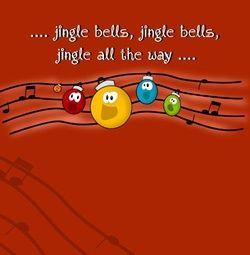 Warme kerstkaart met kerstballen. Grappige Cartoon-kerstkaarten. Kies een mooie kerstkaart, schrijf de tekst, en met een druk op de knop, verstuur je ze allemaal! http://www.kerstkaartensturen.nl/kerstkaarten/kerst-cartoons/