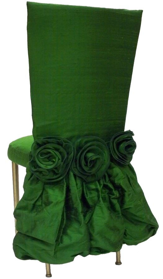 chair cover  www.tablescapesbydesign.com https://www.facebook.com/pages/Tablescapes-By-Design/129811416695