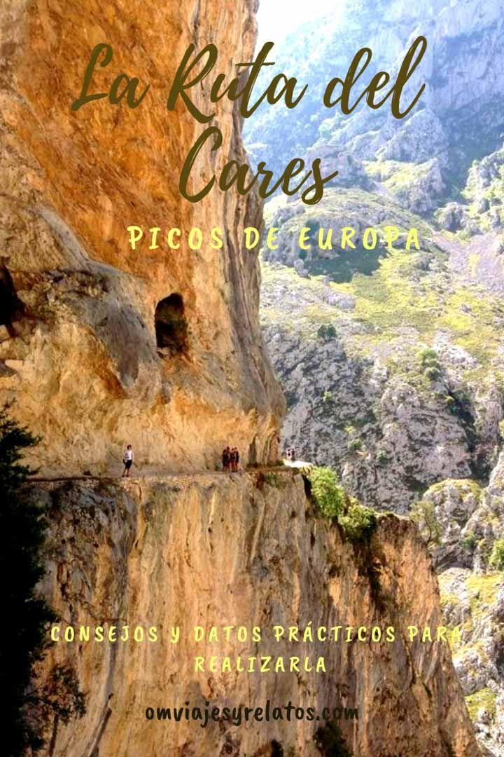 La Ruta Del Cares Desde Caín Hasta Poncebos En Los Picos De Europa Picos De Europa Rutas De Senderismo Rutas Senderismo España