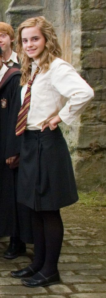 Harry Potter Hermine Granger Kostüm selber machen | Kostüm-Idee zu Karneval, Halloween & Fasching