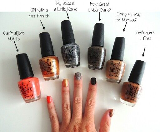 Opi fall colors 2014   Nail Polish & Nails I love   Pinterest