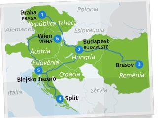 Itinerário na Europa Oriental