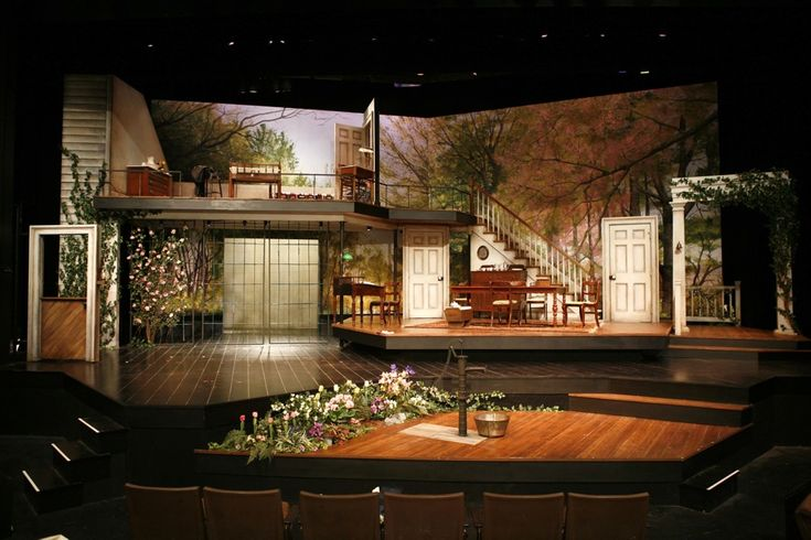 The Miracle Worker. Syracuse Stage. Set design by Michael Vaughn Sims. Photo by Lonnie Rafael Alcaraz.