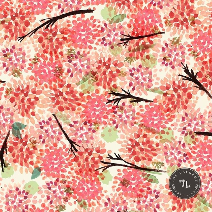 floral patterned canvas fabric - photo #8