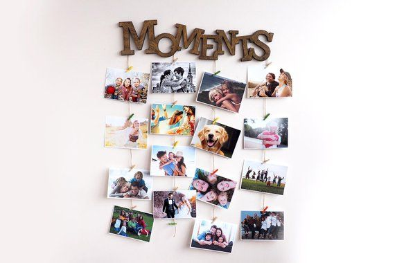 Memoryboard For Collecting The Most Precious Memories Ready To Be Hanged On Wall Dimensions Picture Collage Wall Picture Wall Pinterest Wall Decor