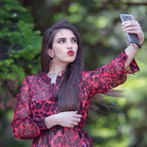 #Simplyfes #collection #red #animal #print #caftan