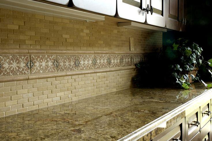 30 Amazing Design Ideas For A Kitchen Backsplash: 101 Best Images About Kitchen Back Splash Natural Stone On