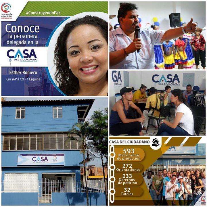 ::: CASA DEL CIUDADANO ::: Conoce los servicios de esta iniciativa de la Personería de Cali en la Comuna 21 | Detalles: bit.ly/1EmY0ZT