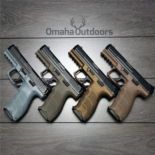 H&K HK VP9 LE Burnt Bronze 9mm 15 RDS M700009LE-A5 : Semi Auto Pistols at GunBroker.com