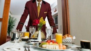 A traditional room service approach. Image by ©www.acbnews.go.com