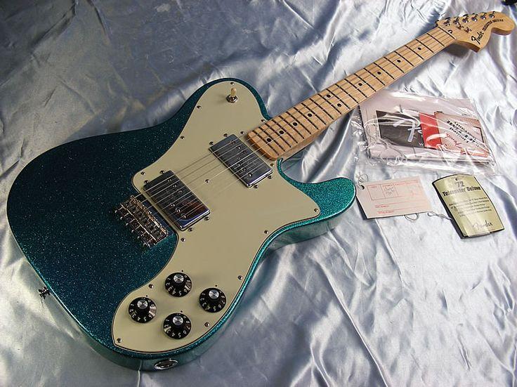 2012 Fender Telecaster Deluxe 72 Reissue FSR in Aqua Flak.jpg