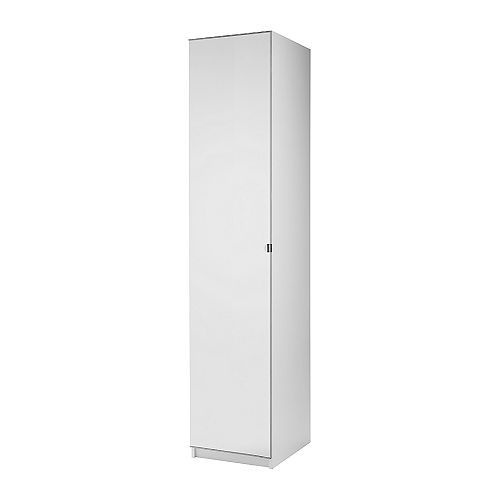 ALTERNATIVE SOLUTION 1x$165.75 (reg. $195) PAX Wardrobe 50x60x201cm with 1 door IKEA If you want to organize inside you can complement with interior organizers from the KOMPLEMENT series.