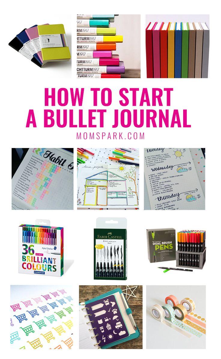 How to Start a Bullet Journal - #bujo | Mom Spark - A Trendy Blog for Moms - Mom Blogger