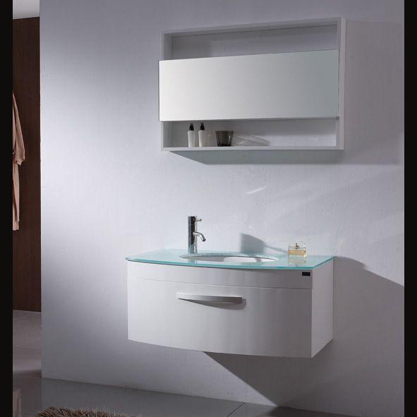 Modern White Bathroom Vanities