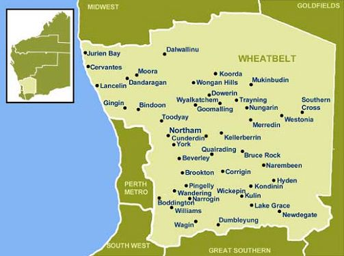 Best WA Regional Maps Images On Pinterest Western Australia - Map of western australian towns