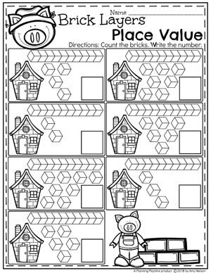 place value worksheets teachers pay teachers my store place value worksheets kids math. Black Bedroom Furniture Sets. Home Design Ideas