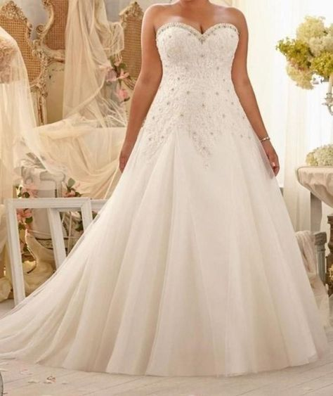 Vintage Lace And Tulle Bandage Plus Size Wedding Dresses With Bling Beading , Sweetheart Neck Bridal Dresses Quick Details Material: Spandex / Polyester Fabric Type: Chiffon Style: Beach Casual Silhou