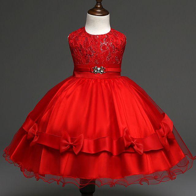 Lskd103 vestido 2016 novo estilo de alta qualidade meninas Tutu verão vestido para casamento festa flor meninas vestido novo