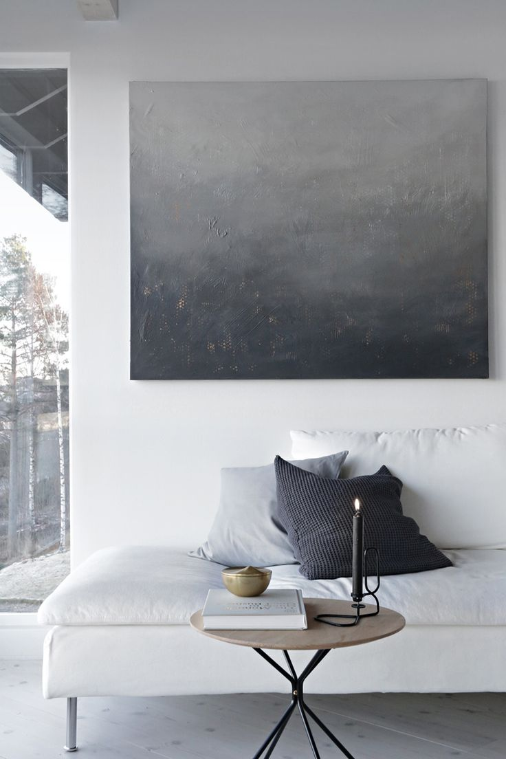 Behind the dark_ painting by Nina Holst