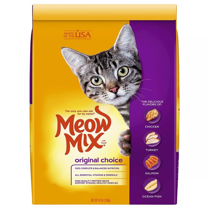 Meow Mix Original Choice Dry Cat Food In 2021 Cat Food Brands Cat Food Reviews Cat Nutrition