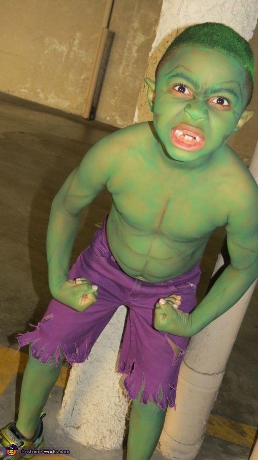Hulk Costume For Girls