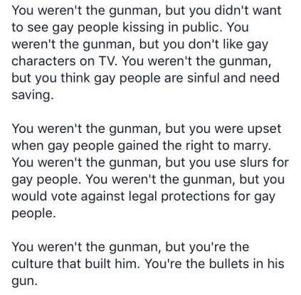 This has to be said. #Orlando