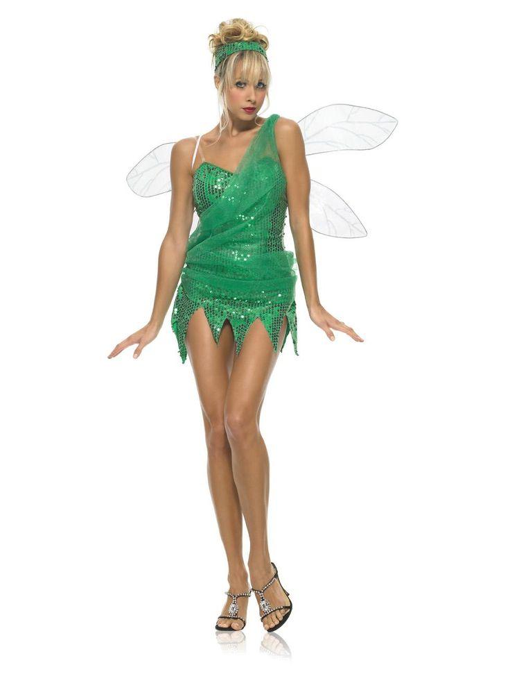 sequined sprite costume 5099 direct 2 u fancy dress superstore http halloween costumes adultfairy - Green Fairy Halloween Costume