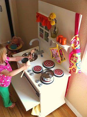 The Land of the Oz Fam: Play Kitchen: Kids Plays, Diy Kitchens, Kids Stuff, Nightstand Plays, Kids Playhouse, Diy Plays, Night Stands, Plays Kitchens, Kids Kitchens