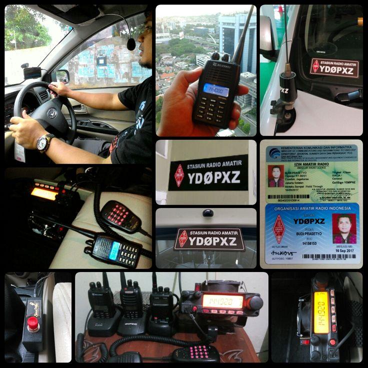 #silaturahmi lewat udara, dimana saja & kapan saja - YDØPXZ -  #car #amateurradio #radioamatir #orari #odj #ngebrik #roger #rig #ht #callsign #onair #orarijakarta #communication #silaturahmi #staytune #radio #frekuensi #hobby #hobi #extramic #handsfree #ptt #antenna #yaesu #yaesuft2900 #mobilestation