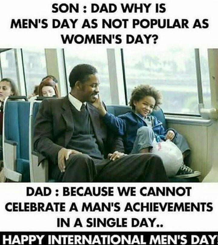 Dadddaa I Love Uuuu Happy International Men S Day International Men S Day Happy Man Day