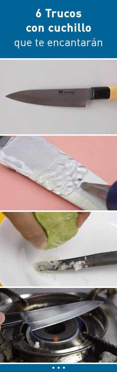 6 Trucos con cuchillo que te encantarán