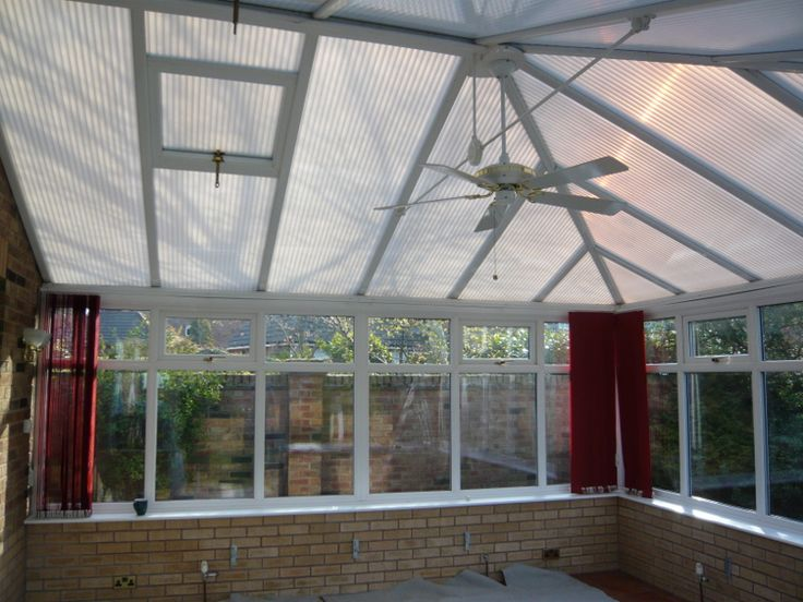 This conservatory used to experience a great deal too much heat loss, noise, and glare from sunlight. It didn't make for a pleasant living space!