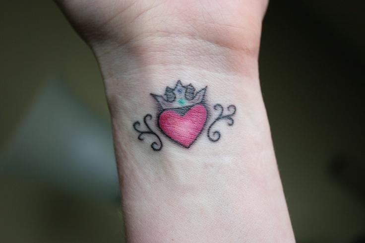 claddagh ring tattoo-#20